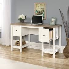 Desks With Drawers On Both Sides Highland Dunes Myrasol Writing Desk U0026 Reviews Wayfair