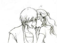 zutara chaste kiss sketch by sorceressmyr on deviantart u2022zutara