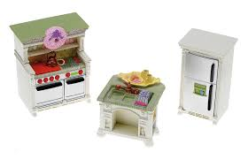 Dollhouse Kitchen Furniture Fisher Price Loving Family Dollhouse Kitchen Dollhouses Amazon