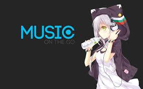 anime music girl wallpaper anime girl headphones wallpaper google search anime girl