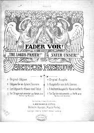 fader vor miskow sextus imslp petrucci music library free
