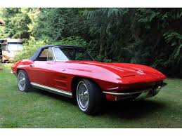 1964 stingray corvette convertible 1964 chevrolet corvette stingray for sale classiccars com cc