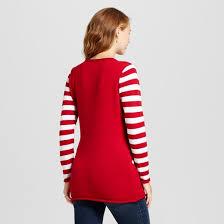 maternity light up tree tunic sweater