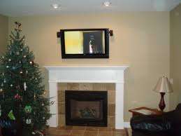 hdtv u0027s over a fireplace park place installations
