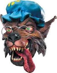 Wolf Halloween Costume Big Bad Wolf Mask Granny Red Riding Hood Fancy Dress Halloween