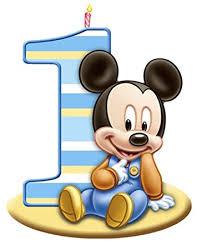 mickey mouse 1st birthday mickey mouse 1st birthday edible image photo cake topper