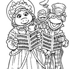 kids fun muppets show coloring pages bulk color