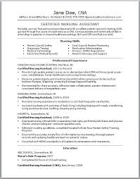 Example Of No Experience Resume by Awesome Ideas Cna Resume No Experience 12 Example Of A New Cna