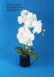 giant white artificial phalaenopsis orchid plant for home