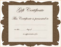 Participation Certificate Templates Free Download 7 Christmas Gift Certificate Template Free Download Memo Templates