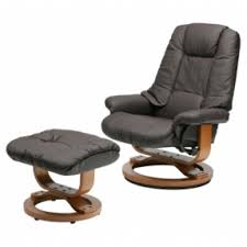 leather chairs with footstool leather swivel rocker recliner