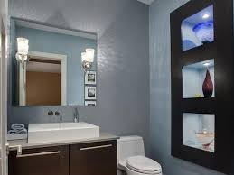 modern guest bathroom ideas modern style small bathroom ideas bold paint color scheme home