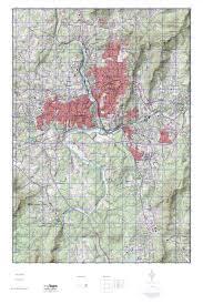 Usgs Topographic Maps Mytopo Asheville North Carolina Usgs Quad Topo Map