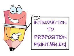 11 best prepositions images on pinterest grammar activities