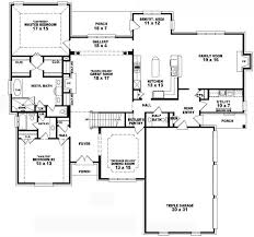 One Story House Plans With 4 Bedrooms 5 Bedroom House Plans 2 Story Home Planning Ideas 2017