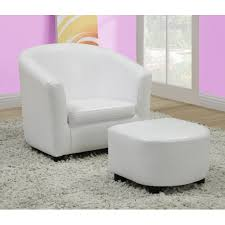 White Desk Chairs Ikea by White Leather Barrel Chair Swivel Chairs Inspiration Ideas Office