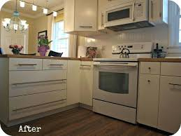 Ikea Doors On Existing Cabinets Ikea Doors On Existing Cabinet Modern Cottage Kitchen Remodel With