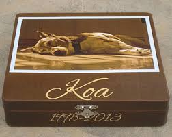 Keepsake Box Personalized Pet Memorial Keepsake Box Personalized Photo Keepsake Box