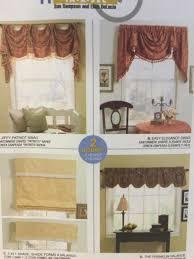valance swag window shade mccall u0027s 4854 home dec sewing
