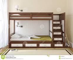 chambre a coucher des enfants la chambre à coucher des enfants illustration stock illustration