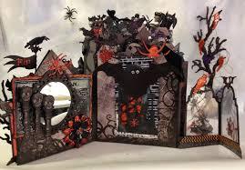 recollections spooky castle halloween mini album annes