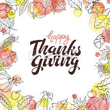 happy thanksgiving day background greeting card with