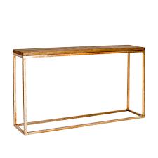 Gold Console Table Plankton Console Table U2013 Gold U2013 Innovative Home Solutions