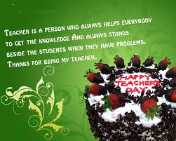 terms why do we celebrate teachers day in india