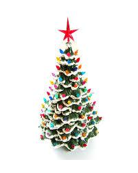 Large Ceramic Christmas Tree 85 Best Ceramic Christmas Trees Images On Pinterest Ceramic