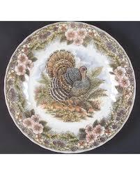 new savings on churchill thanksgiving multicolor dinner plate