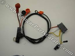 alternator wiring harness w o gauges economy repro 1972