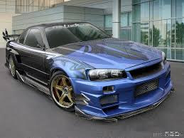 nissan r34 paul walker paul walker nissan skyline r34 beauty and the beast
