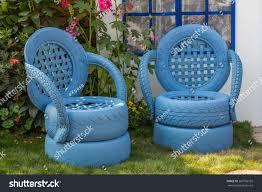 Flower Garden Chairs Hong Kong Mar 20 2014 Garden Stock Photo 267785105 Shutterstock