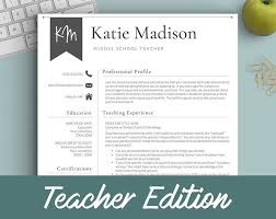 Creative Teacher Resume Templates The 25 Best Teacher Resume Template Ideas On Pinterest Resume