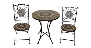 Mosaic Bistro Table Remarkable Mosaic Bistro Table And Chairs With Mosaic Bistro Set