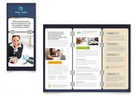 word tri fold brochure template free 24 word tri fold brochure