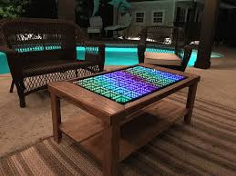 coffee table cost this led coffee table takes your home decor to infinity and beyond