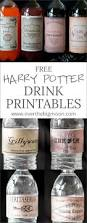 Printable Halloween Posters Free Harry Potter Drink Printables
