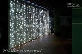 Led Light Curtains Cheap 6mx3m 600 Led Curtain Lights String Christmas Xmas Wedding