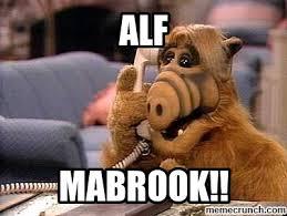 Alf Meme - mabrook