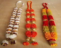 flower garlands for indian weddings indian wedding flower garland wedding corners