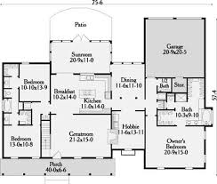 garrison house plans garrison ii house plan 3629 3 bedrooms and 2 5 baths the house