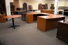 Used U Shaped Desk Used Hon U Shaped Desk And Table Office Furniture Warehouse