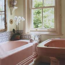 pink tile bathroom ideas best 25 pink bathrooms ideas on pink bathtub pink