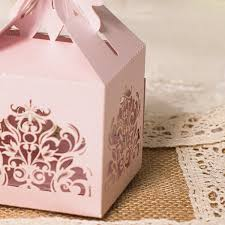 wedding favors boxes pink laser cut butterfly wedding favor box ewfb108 as low as 093