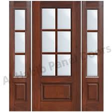 wooden and glass doors glass wooden door with frame hpd480 glass panel doors al habib
