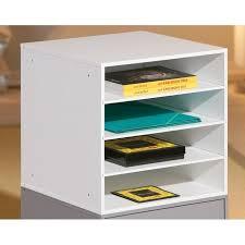 rangement sur bureau meuble de rangement de bureau pour papiers maison design bahbe com