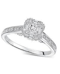 Macys Wedding Rings by 116 Best Silver Diamond Engagement Rings Images On Pinterest