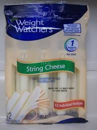 carbs in light string cheese cheese stick from weight watchers nurtrition price