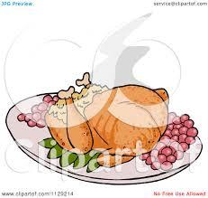 cartoon images of thanksgiving turkey cartoon of a roasted thanksgiving turkey royalty free vector